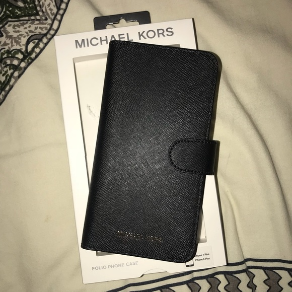 8a09ff0081b5 Michael Kors Accessories | Brand New Iphone 78 Plus Wallet Case ...